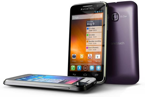 Alcatel One Touch M'Pop é um smartphone intermediário com Android 4.1 (Foto: Divulgação)