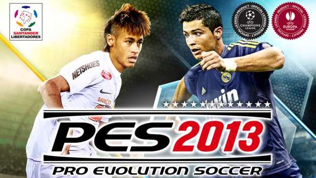 Capa do PES 13 antecipou duelo de Neymar com CR7 pelo espanhol. (Foto: Divulgação)