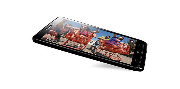 Motorola Droid mini mantém as configurações de top, mas em corpo menor (Foto: Divulgação)