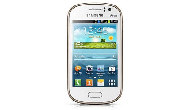 Galaxy Fame Duos tem Android Jelly Bean e tela de 3,5 polegadas (Foto: Divulgação)