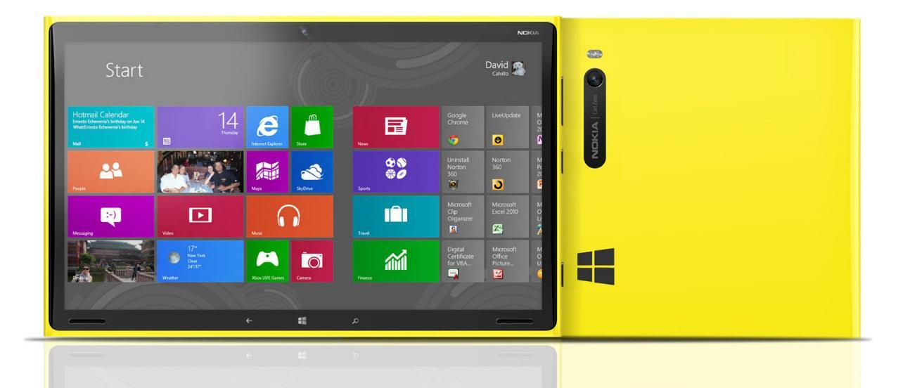 Conceito de uma tablet Windows 8 RT da Nokia (Foto:Reprodução/TechStorm)