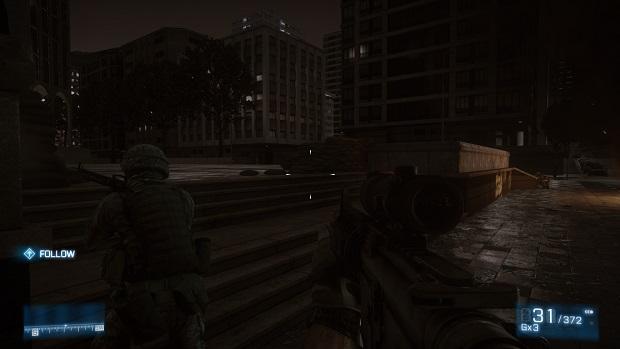 Battlefield 3 rodando tranquilamente na qualidade Ultra (Foto: Reprodução/Thiago Barros)