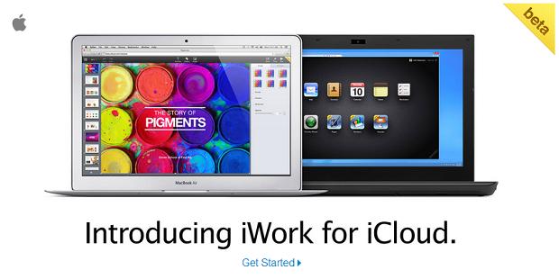 iCloud ganhou suíte de programas (Foto: Reprodução/Aline Jesus)