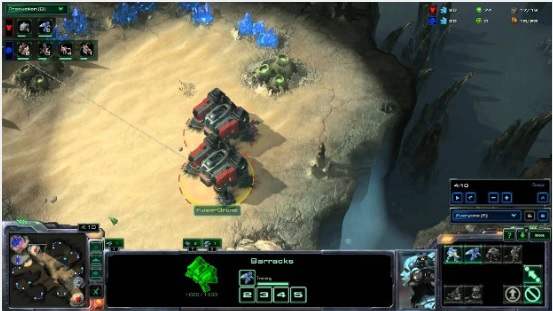 Proxy é quando o jogador constrói em áreas remotas ou próximas da base de seu adversário em StarCraft 2 (Foto: Kboomk.waw.pl)