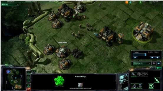 Walling se resume em fechar sua base ou deixar apenas uma pequena passagem em StraCraft 2 (Foto: João Moura / Reprodução)