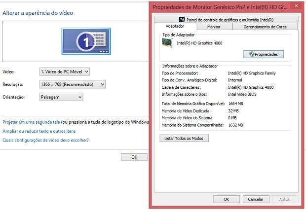 Tela tem resolução de qualidade no laptop da Dell (Foto: Reprodução/Thiago Barros)