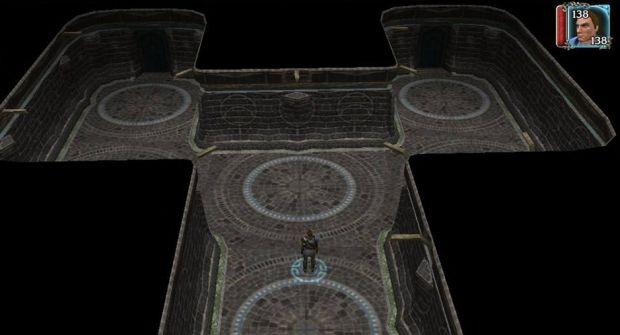 O mod de Neverwinter Nights II criado por Flávio Gerab, para analisar comportamento psicológico (Foto: Divulgação)