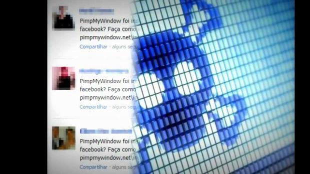 Adware promete mudar a cor do Facebook pode causar muitos estragos (Foto: Reprodução/YouTube)