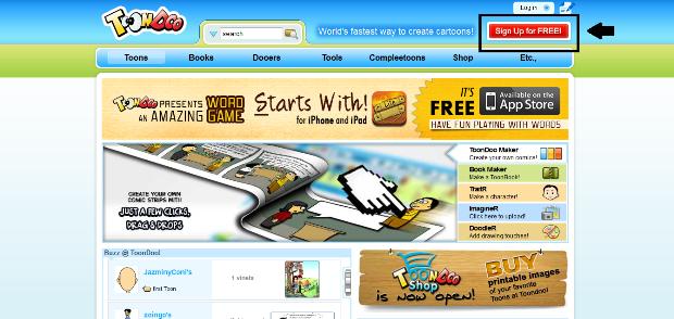 Página inicial do site (Foto: Reprodução/ Lívia Dâmaso)