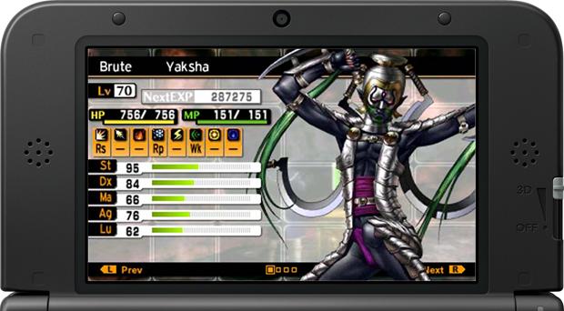 Saiba escolher os demônios membros do seu grupo em Shin Megami Tensei IV (Foto: Reprodução/Silas Tailer)
