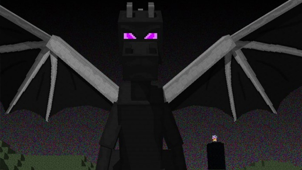 Ender Dragon, chefe final de Minecraft, chegou recentemente também no Xbox 360 (Foto: product-reviews.net)
