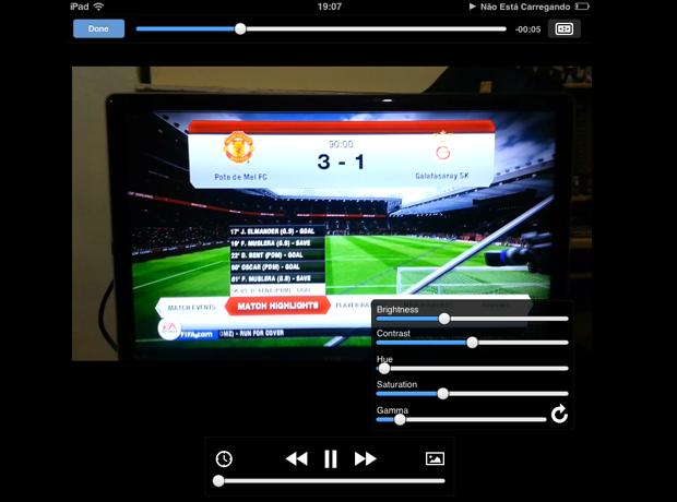 Esta é a tela de reprodução do VLC (Foto: Reprodução/Thiago Barros)