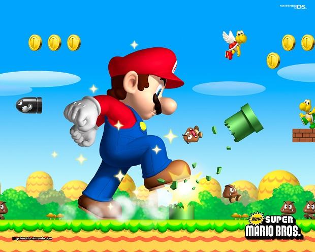 Mario massacra a concorrência nos cinco continentes (Foto: Divulgação) (Foto: Mario massacra a concorrência nos cinco continentes (Foto: Divulgação))