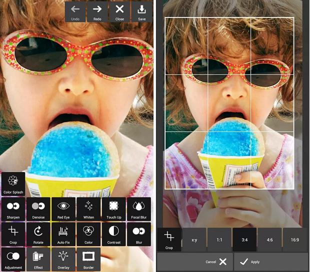 Pixlr Express é um app de edição de fotos (Foto: Reprodução)