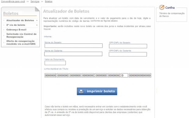 Sites geram boletos falsos e enganam consumidor (Foto: Divulgação)