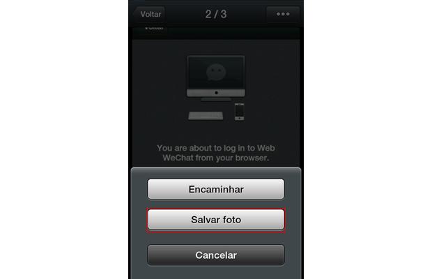 Como usar o WeChat no computador (foto: Reprodução/João Kurtz)