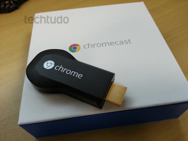 ChromeCast ainda não tem data de lançamento no Brasil (Foto: TechTudo/Allan Mello)