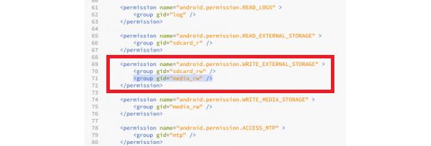 Alterando as configurações do Android 4.3 (foto: Reprodução/Phone Arena)