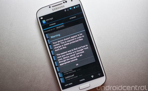 Bug do Android 4.3 impede que aplicativos acessem o cartão SD (foto: Reprodução/Android Central)