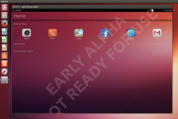 Interface ainda é um projeto em andamento (Foto: Reprodução/OMG Ubuntu)