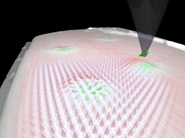 Nova partícula tem propriedades para criar HD 20 vezes menor consumindo 100 mil vezes menos energia. (Foto: Reprodução / Discovery)