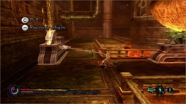 Game possui mecânicas únicas para utilização da corrente (Foto  Divulgação)  (Foto  9933d38f78172