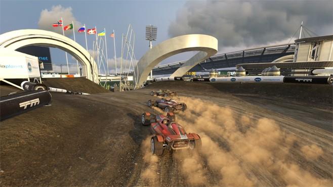 Trackmania Stadium (Foto: Divulgação)