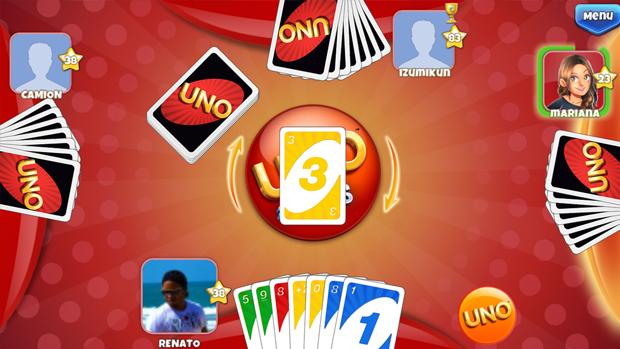 Uno e Friends pode ser jogado com até quatro pessoas. (Foto: Reprodução) (Foto: Uno e Friends pode ser jogado com até quatro pessoas. (Foto: Reprodução))