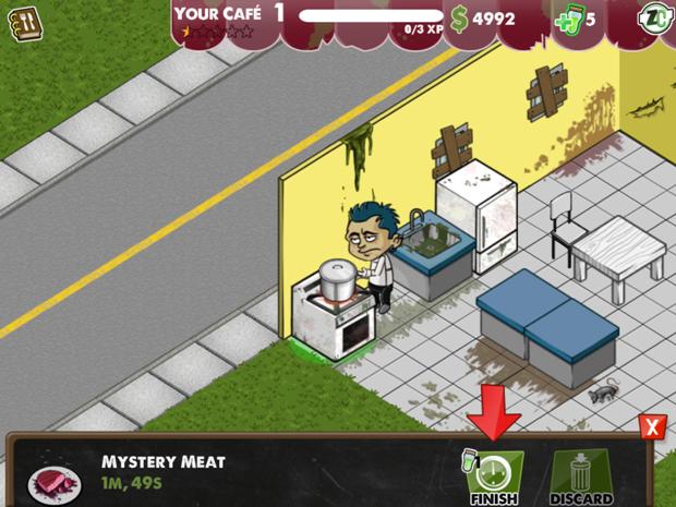 Zombie Café traz cardápio voltado aos mortos-vivos (Foto: Reprodução/TechTudo)