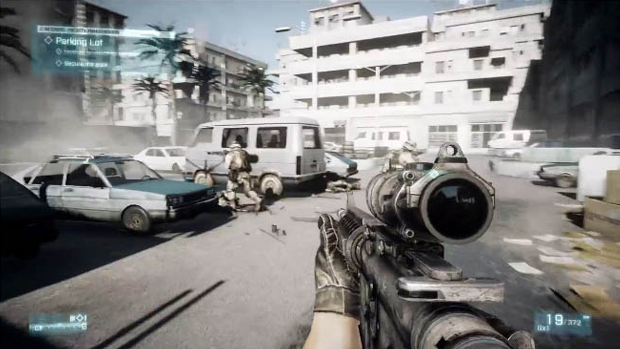 Aprenda como jogar Battlefield 3 (Foto: feber.se)