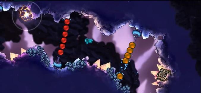 Beatbuddy: Tale of the Guardians possui gráficos bem coloridos (Foto: Reprodução)