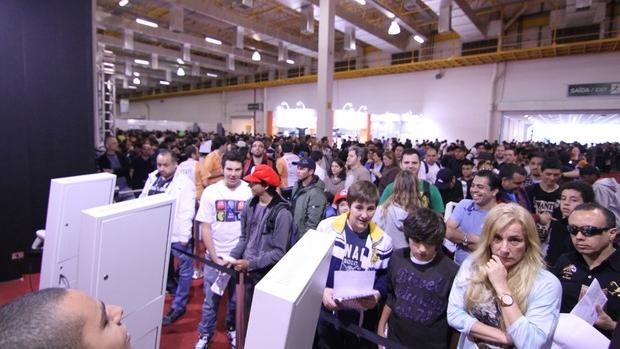 Ingressos da Brasil Game Show esgotaram em 2011 e 2012 (Foto: Fernanda Brito / TechTudo) (Foto: Ingressos da Brasil Game Show esgotaram em 2011 e 2012 (Foto: Fernanda Brito / TechTudo))
