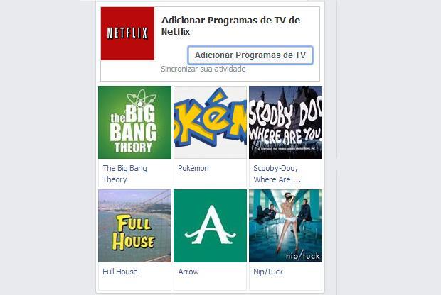 É possível também adicionar programas de TV (Foto: Reprodução/Thiago Barros)