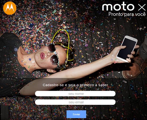 Moto X já tem lista de espera no Brasil (Foto: Reprodução/Submarino)