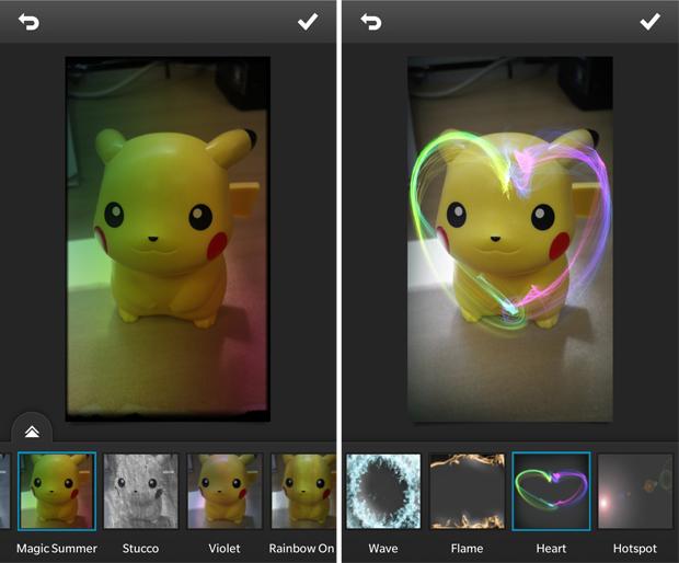 Photo Studio traz efeitos e filtros para as fotos tiradas no BlackBerry (Foto: Reprodução/Elson de Souza)