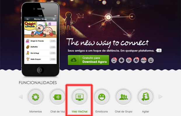 WeChat (Foto: Reprodução/TechTudo)