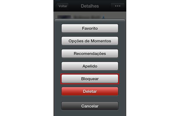 Como bloquear e desbloquear contatos no WeChat (foto: Reprodução/João Kurtz)