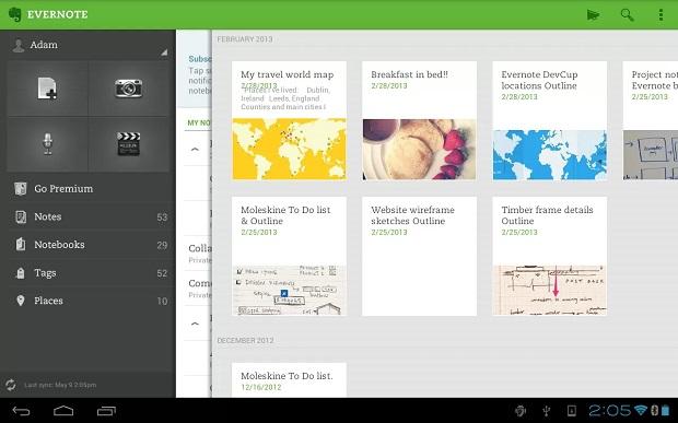 Evernote será gratuito para clientes Vivo (Foto: Divulgação)