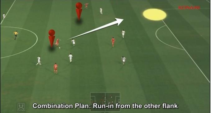 PES 2014 ganha vídeo sobre jogadas em grupo (Foto: Reprodução)