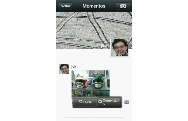 Como compartilhar fotos com o Momentos do WeChat (foto: Reprodução/João Kurtz)