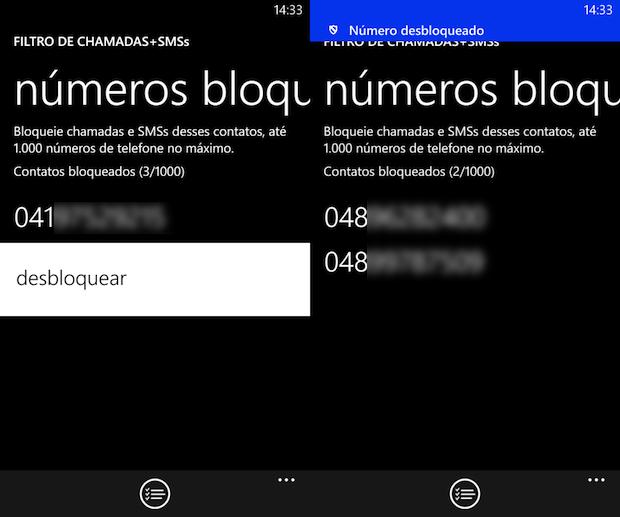 Desbloqueando número (Foto: Reprodução/Helito Bijora)