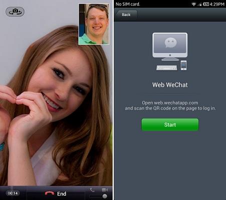 wechat (Foto: WeChat permite chamadas de vídeo (Foto: Divulgação))
