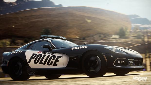 Carros policiais da classe Patrol são mais voltados para a perseguição (Foto: VG247)