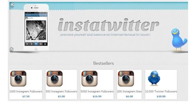 Sites vendem quantidade de seguidores no Instagram (Foto: Divulgação RSA)