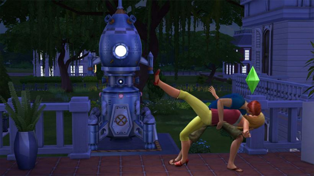The Sims 4 : primeiras imagens e detalhes vazam na internet The-sims-4-romance