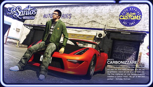 Nova galeria de GTA V mostra mais sobre customização de carros (Foto: Reprodução/Murilo Molina)