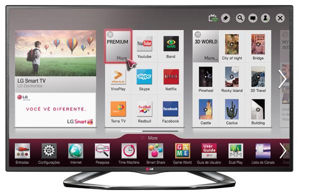 Smart TV 3D LED 42 polegadas LG (Foto: Reprodução)