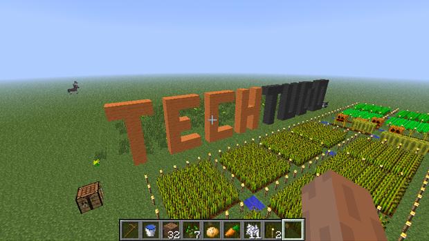 Aprenda a cultivar sua própria fazenda em Minecraft (Foto: Reprodução: Rafael Monteiro)
