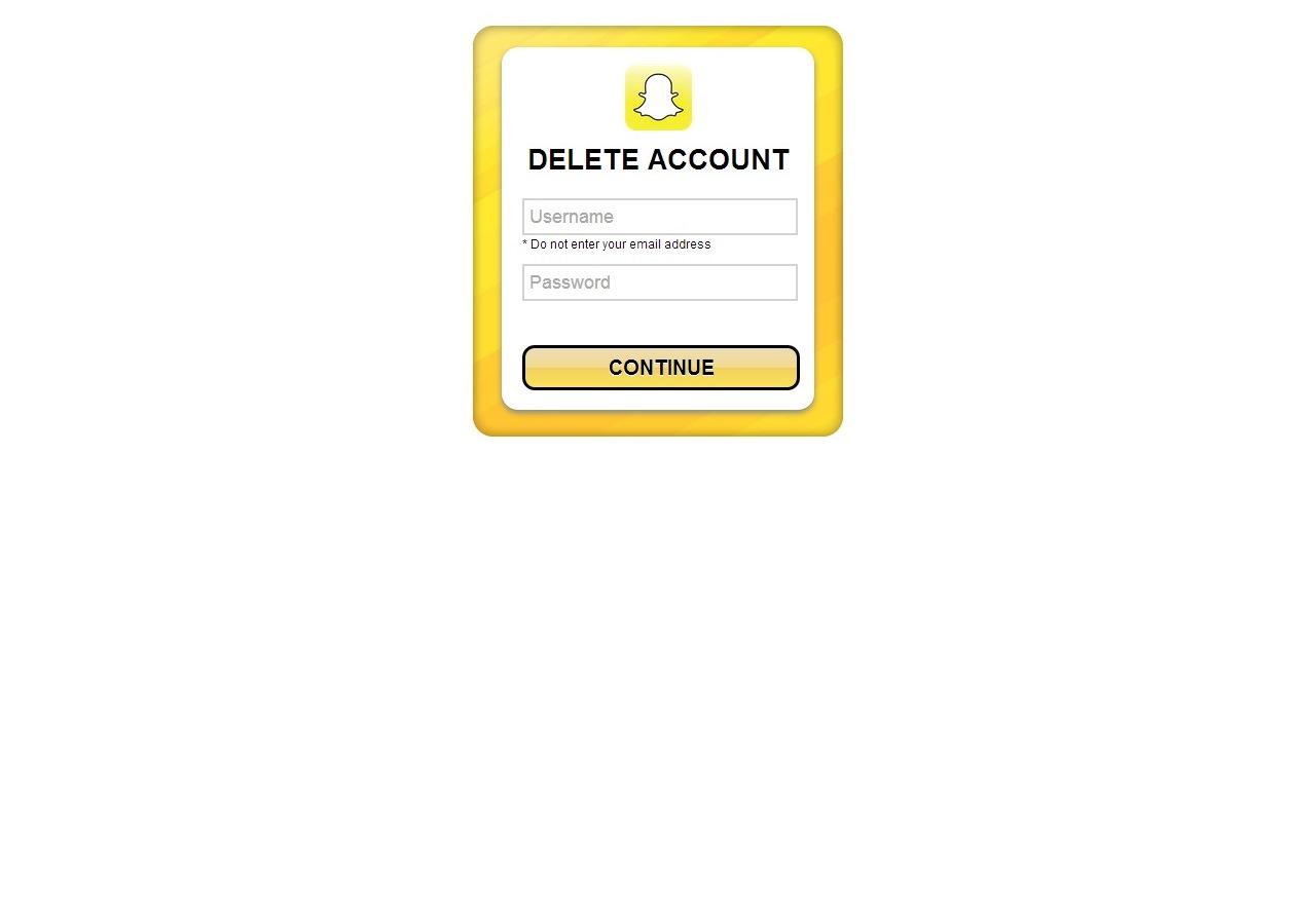 Acesse pelo navegador o endereço do site do SnapChat informando (Foto: Reprodução/Daniel Ribeiro)