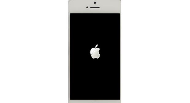 Ao reiniciar, espere alguns segundos até que o logo da Apple desapareça para ver sua tela inicial (Foto: Reprodução / Paulo Alves) (Foto: Ao reiniciar, espere alguns segundos até que o logo da Apple desapareça para ver sua tela inicial (Foto: Reprodução / Paulo Alves))
